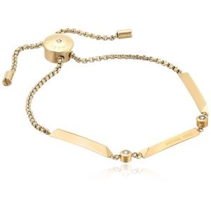 New Authentic MICHAEL KORS gold tone bracelet